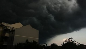 Horor na nebu iznad Pančeva: Najava dramatičnog nevremena