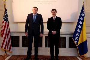 Američki ambasador kod Dodika - Dodik: Mi smo opredijeljeni za saradnju s NATO-om ali ne postoji konsenzus