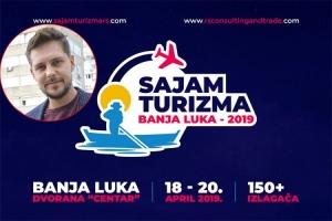 Biković promoter prvog Međunarodnog sajma turizma u Banjaluci
