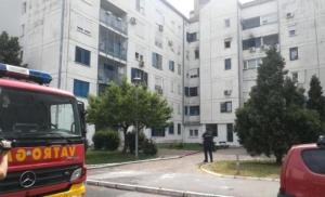 VIDEO Požar u stambenoj zgradi u Sarajevu, odjekivale eksplozije