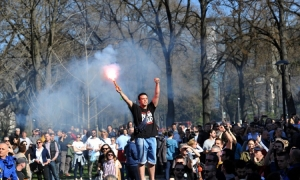 In live: Haos u Beogradu