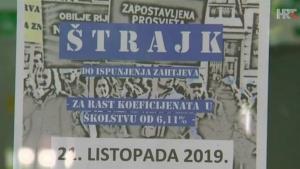 HR: Štrajk u svim školama, slijedi neplaćanje ili sudska zabrana?