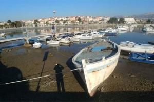 Kod Splita presušilo more