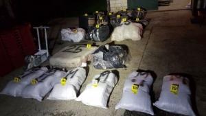Pola tone droge zaplijenjeno u Gabela Polju