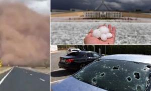 Australiju pogodile snažne oluje, poplave i grad
