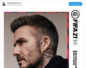 Beckhamu 45 milijuna eura za igricu u kojoj učestvuje