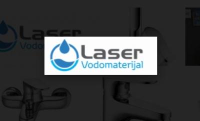 """""""Laser"""" - Najbolja ponuda vodomaterijala i kupaonskog namještaja"""