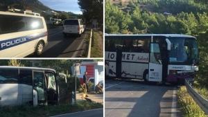 Stravičan sudar dva autobusa, sve hitne službe na terenu