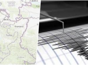 Snažan zemljotres u Srebreniku