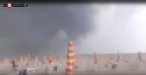 (2. video) Nevjerovatna oluja u Italiji