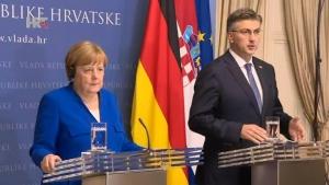 Merkel u Hrvatskoj: Postoje struje koje preziru europske vrijednosti