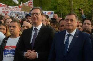 Dodik: Vidiću sa Vučićem za miting u RS