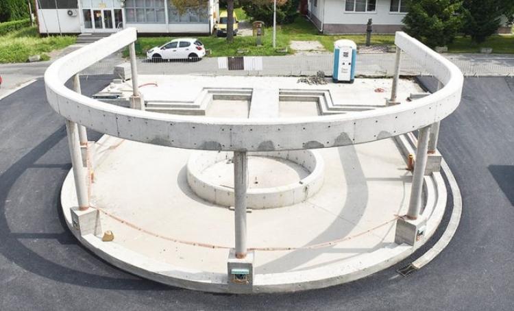 """Evropa finasira izgradnju fontane u obliku ustaškog """"U"""""""