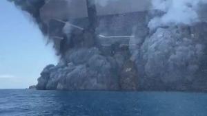 Erupcija vulkana na N. Zelandu
