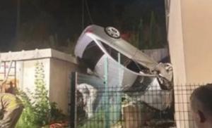 Izvlačili auto dizalicom: Nesreća u Sarajevu kod Vogošće