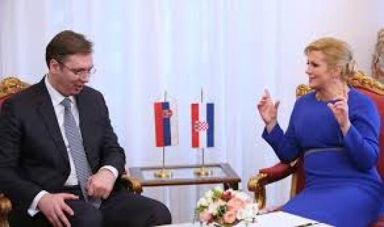 """Šta je Grabar Kitarović tražila od Vučića zauzvrat za """"šutnju"""" o """"velikosrpskoj agresiji""""?"""