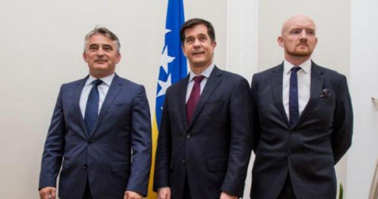 Komšić sa Nelson i Fieldom: Put BiH ka NATO-u i EU komplementarni procesi