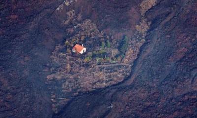 """Čudesna kuća """"preživjela"""" rijeku lave"""