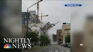 Zastrašujući video rušenja hotela u Nju Oreansu, snimci očevidaca