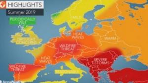 Ljeto od toplotnih udara i oluja