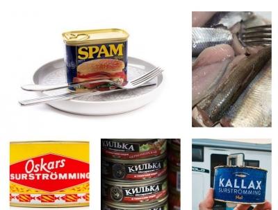 Bizarna hrana iz konzerve: Kolači, cijelo pile, hamburger ...