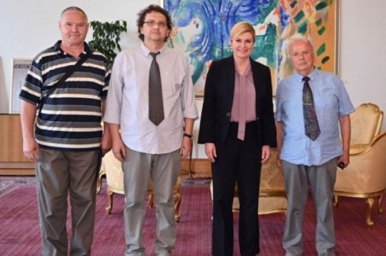 Kolinda sa čelnikom Pavelićeve stranke: Predsjednica primila čovjeka koji organizira mise za Antu Pavelića