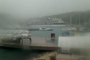 (V)Bura puše 143 km/h u Dubrovniku
