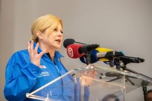 Kolindin gaf-urnebes N0 1: Greškom pozvala birače da na izborima zaokruže Milanovića