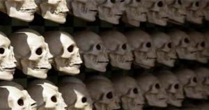 U jazbini meksičkih krijumčara drogom otkriven oltar s lubanjama
