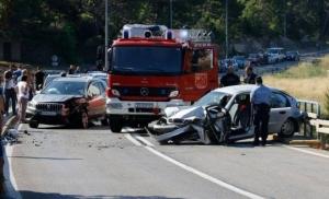 Teška saobraćajna nesreća kod Makarske, poginula žena