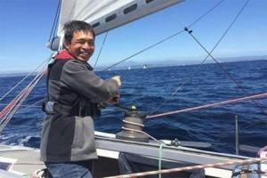 Slijepi mornar prešao tihi okean bez zaustavljanja