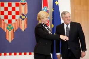 Tajani: Kolinda, u BiH svaki dan slušaju Vaše izajve slične mojim