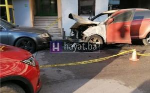 Zapaljen auto ocu ex fudbalera Željezničara