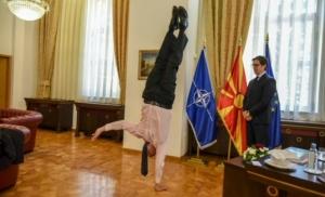 Pred predsjednikom na jednoj ruci: Makedonski predsjednik objavio vratolomije izrealskog ambasadora
