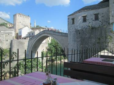 """Restaurant """"Bella Vista"""" from Mostar is finally included at world list of """"The Best view   and photo point"""","""