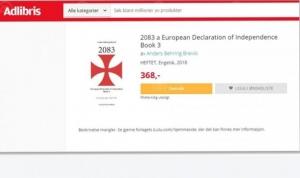 Brejvikov manifest prodavala najveća norveška online knjižara