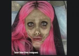"""Iranska """"zombi Angelina Jolie"""" uhapšena zbog niza optužbi, između ostalog i - bogohuljenja"""