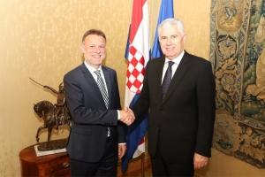 Čović sa Jandrokovićem: Funkcionalne institucije značajne za napredak BiH