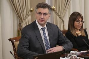 Plenković čestitao ministrima što su došli na sjednicu