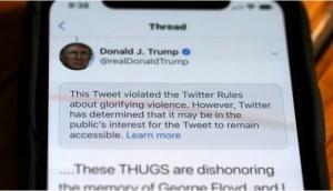 """Twitter opet zabranio Trumpov tvit, sada zbog """"problematičnih autorskih prava"""""""
