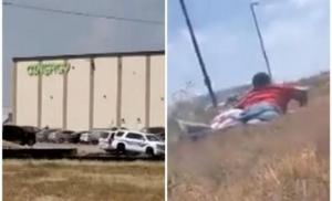 Dramatični snimci iz Teksasa: Ljudi leže u strahu da bi izbjegli nasumičnu pucnjavu