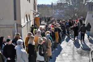 Građani Štokholma napravili obruč oko džamije