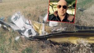 Pilota nema, avion zabijen 2 m u zemlju: Fotografija s mjesta pada aviona kod Zrenjanina - Letjelica smrvljena, pilota i dalje traže!