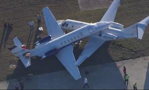 Sudar dva aviona na aerodromu San Antonio (video)