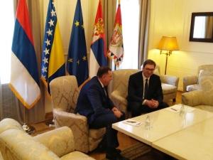 Vučić-Dodik: Ideja da Srbija bude prisutna u svakoj opštini RS