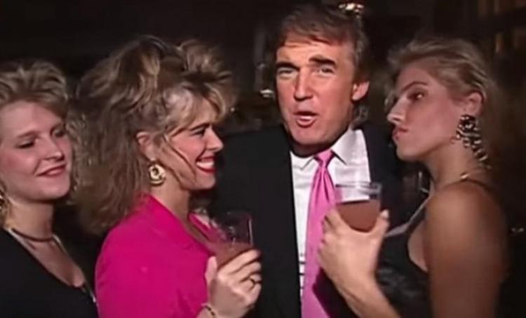 Trump sa pedofilom: (video) Isplivali snimci na kojima Tramp partija sa milijarderom pedofilom