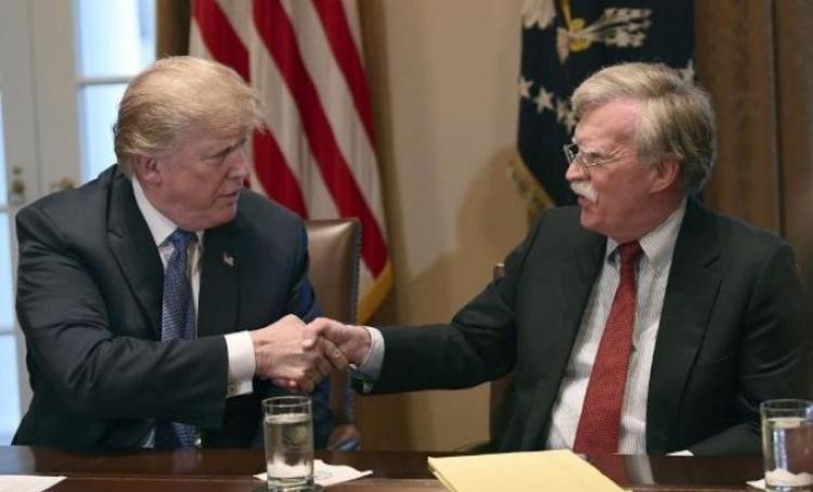 Tramp: Da se Bolton pita Amerika bi ratovala sa svima