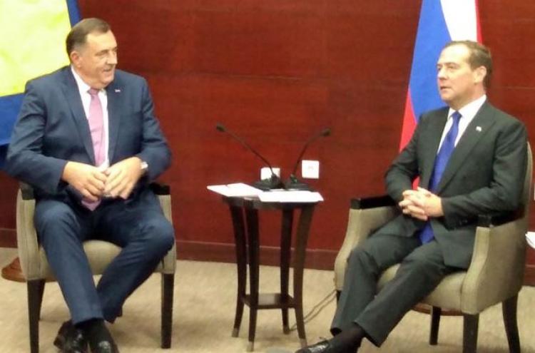 Dodik sa Medvedevim