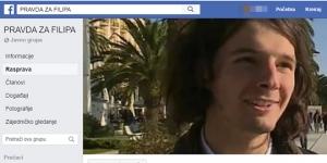 Nova FB grupa ima 13 000 članova: Uklonjena grupa podrške Filipu sa FB, odmah osnovana nova