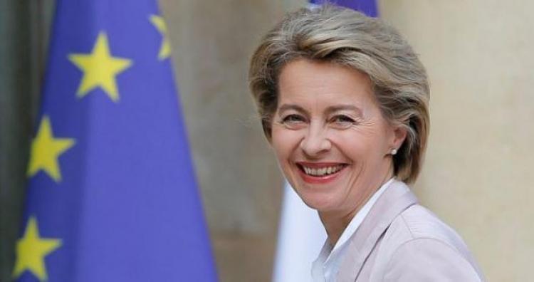 Ursula von der Leyen na čelu Europske komisije